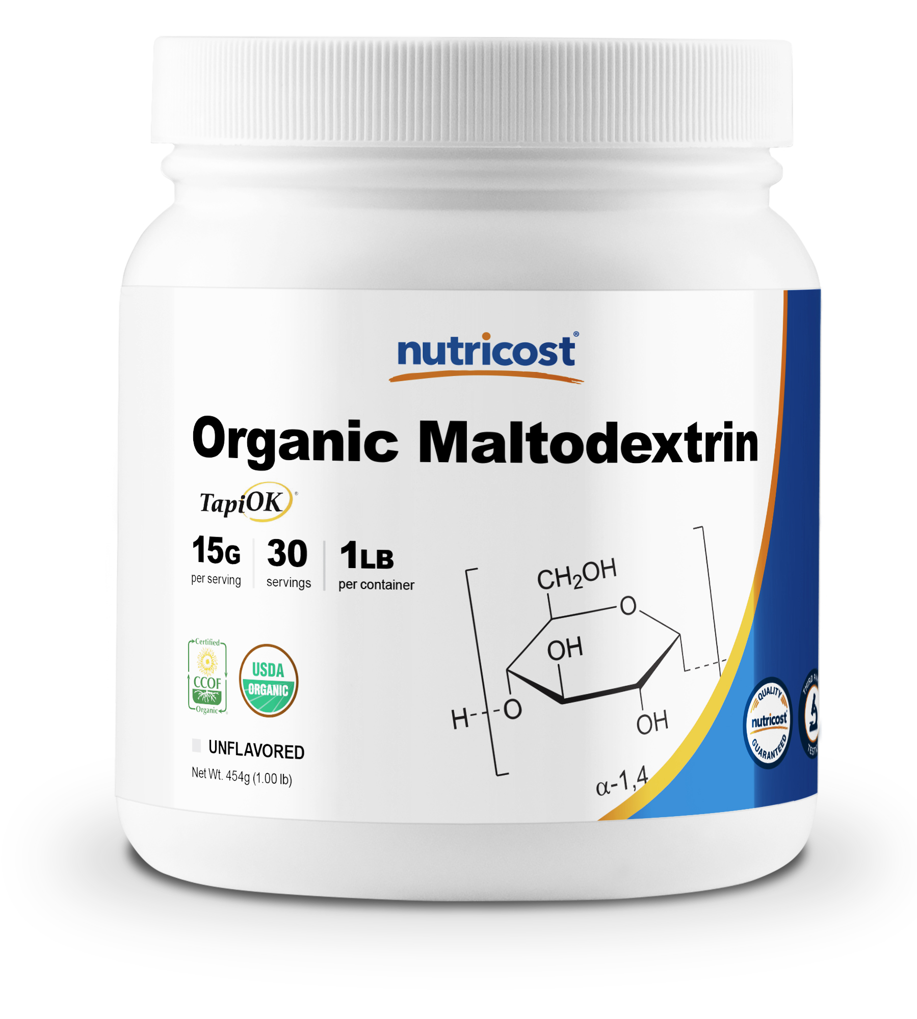 Organic Maltodextrin Powder SuppFacts