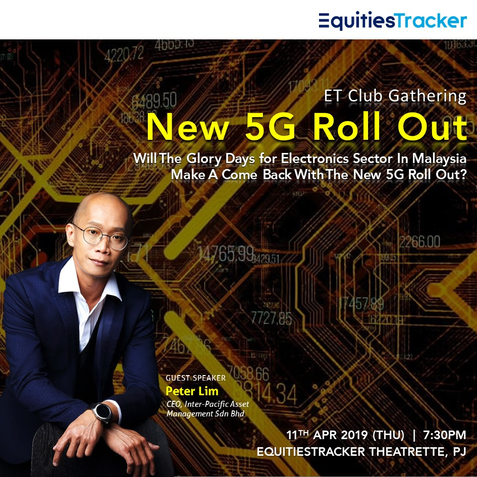 NEW 5G ROLL UP! Guest Speaker : Peter Lim
