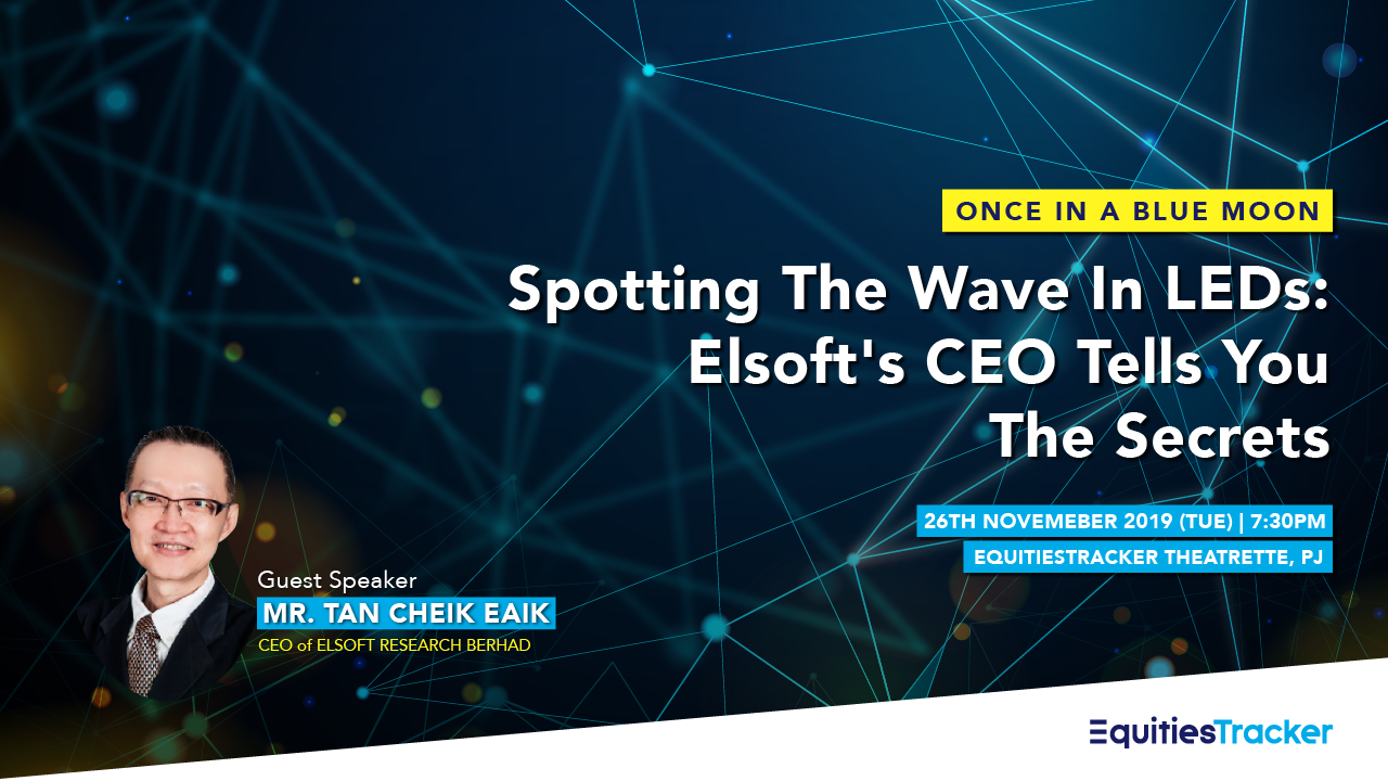 Once In A Blue Moon: Elsoft s CEO, Mr Tan Cheik Eaik Pays Us A Visit