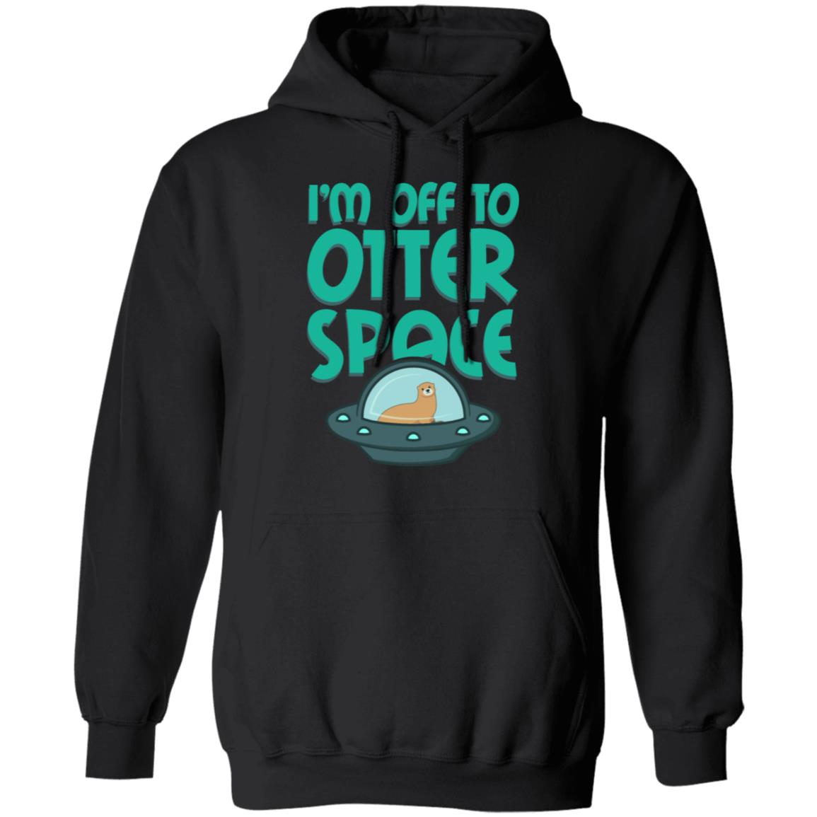 otter space cute otter gifts for otter lovers Christmas hoodie
