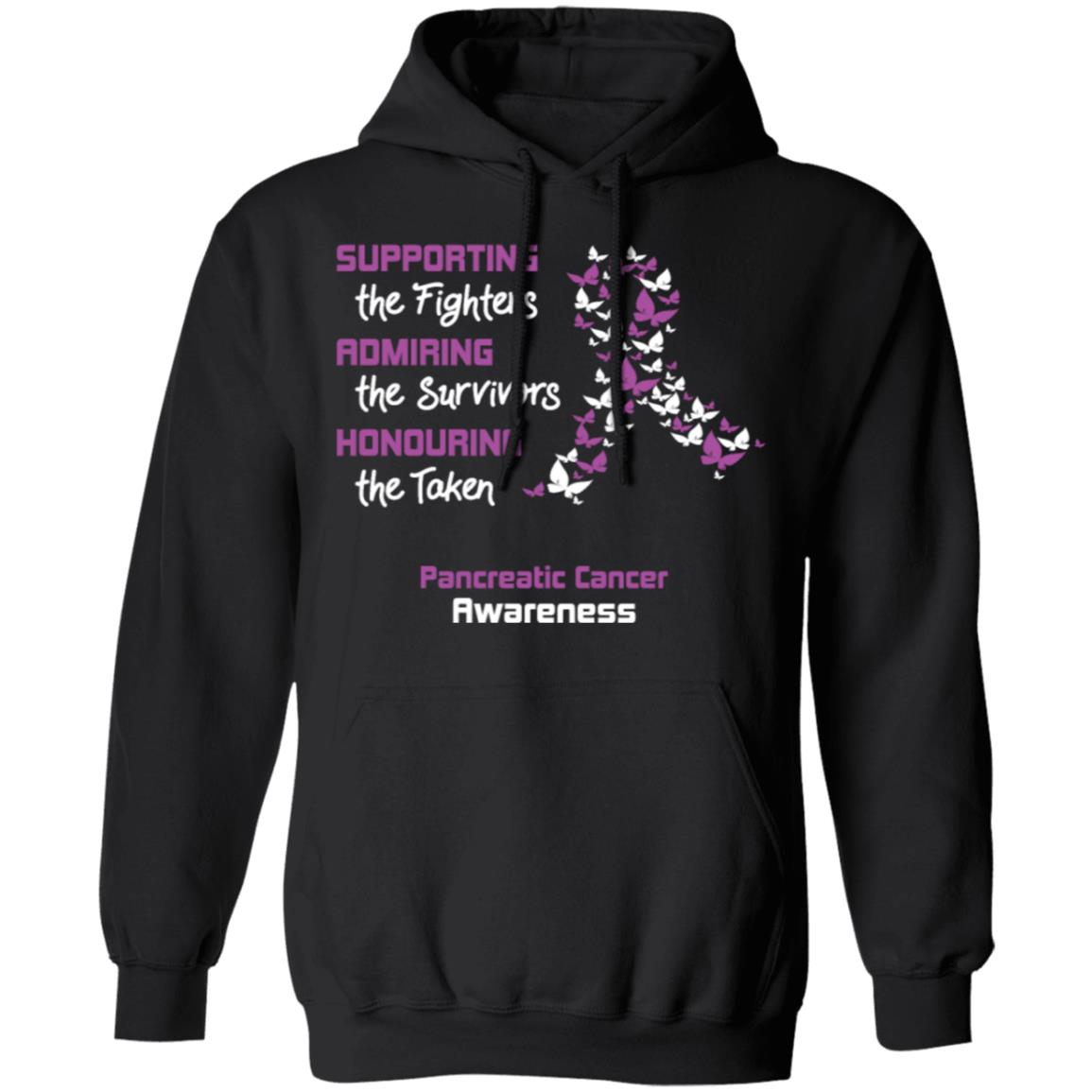 supporting the fighters pancreatic cancer Christmas hoodie