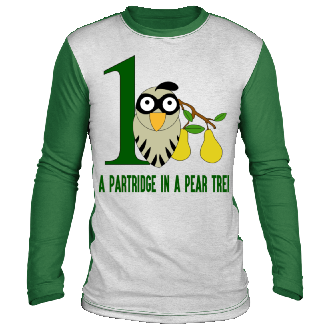 a partridge in pear tree song 12 days christmas Christmas long sleeve shirt