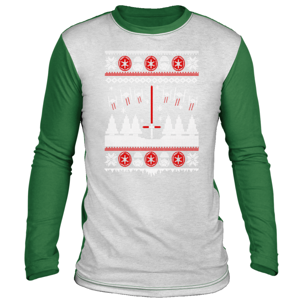 ugly christmas gift for star wars fan Christmas long sleeve shirt