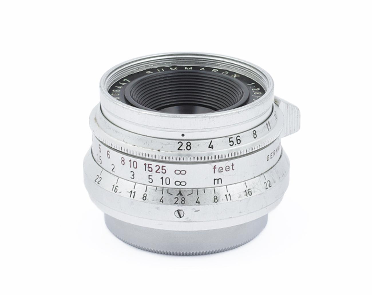Leica-SM-Summaron-2-8-35-mm-1808447-Germany-LTM-L39-Lens
