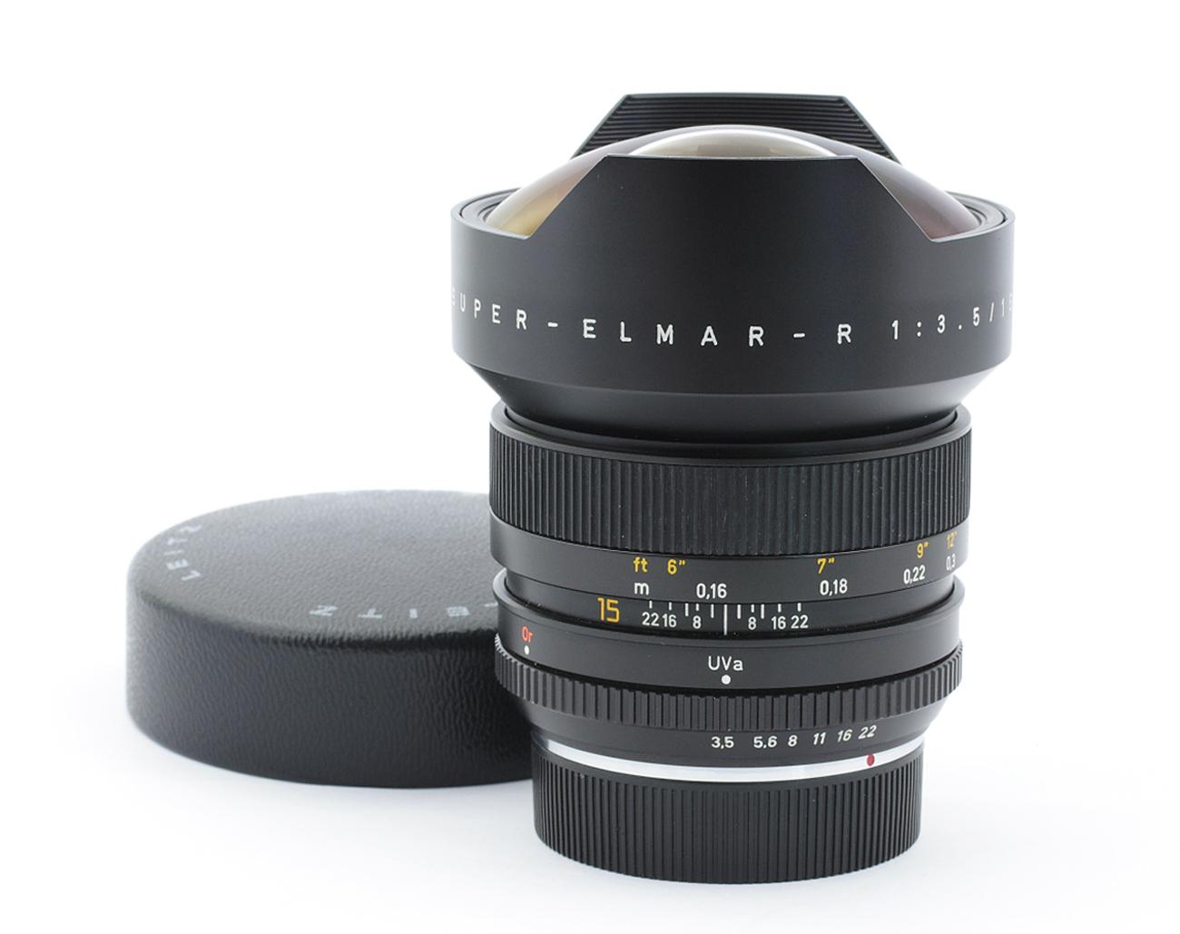 Leica-R-Super-Elmar-3-5-15-mm-3217743-Germany-Lens-SCRATCH