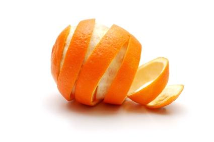Embalagens do futuro: pele de laranja
