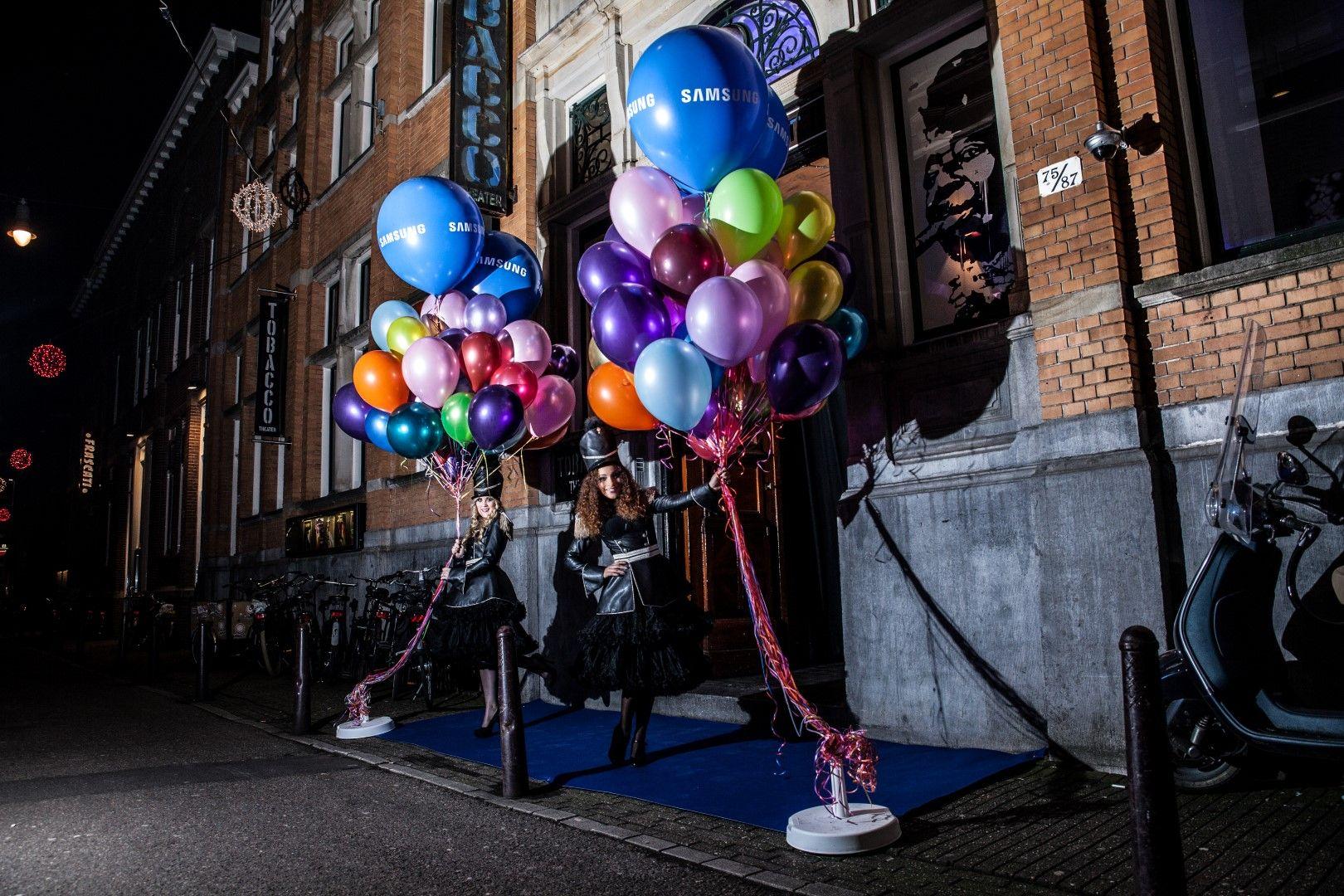 fotograaf huren bedrijfsfeest ballonen