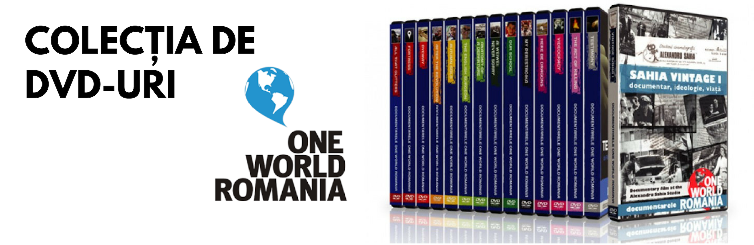 Colecția de DVD-uri One World Romania