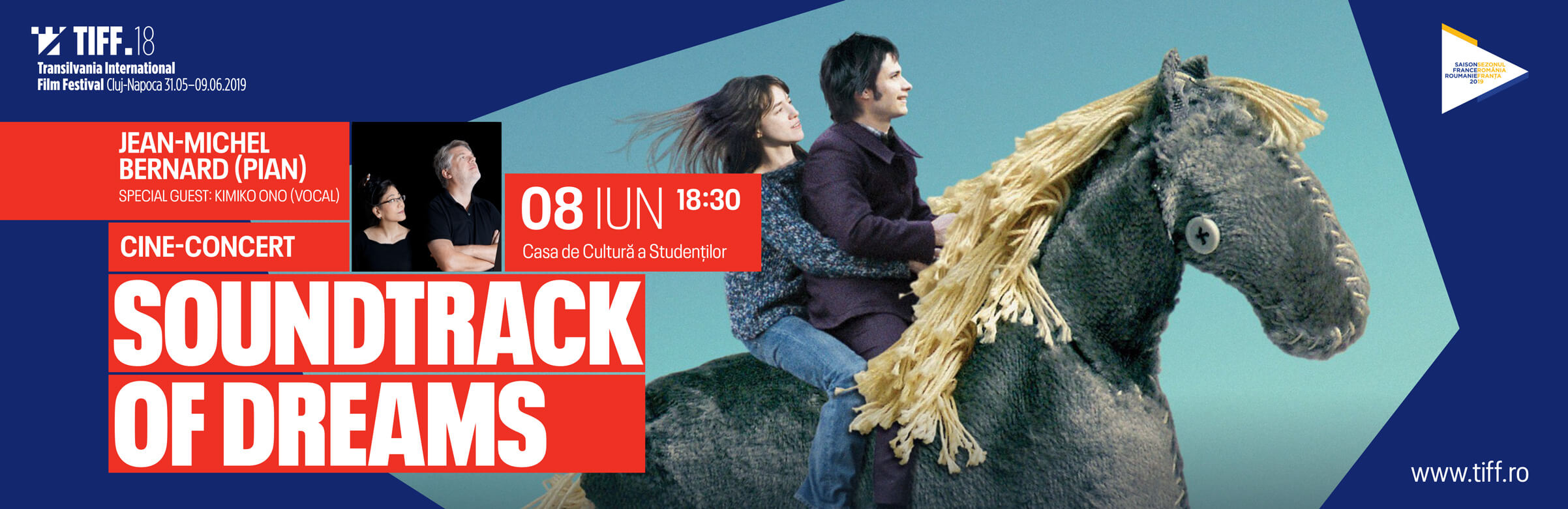 "CINE-CONCERT: ""SOUNDTRACK OF DREAMS"", ACOMPANIAT LIVE DE JEAN-MICHEL BERNARD"