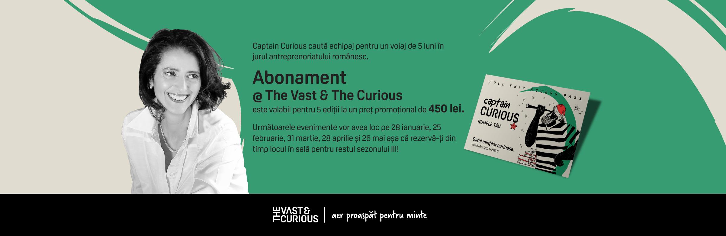 Abonament The Vast&Te Curious - Ediție de Crăciun