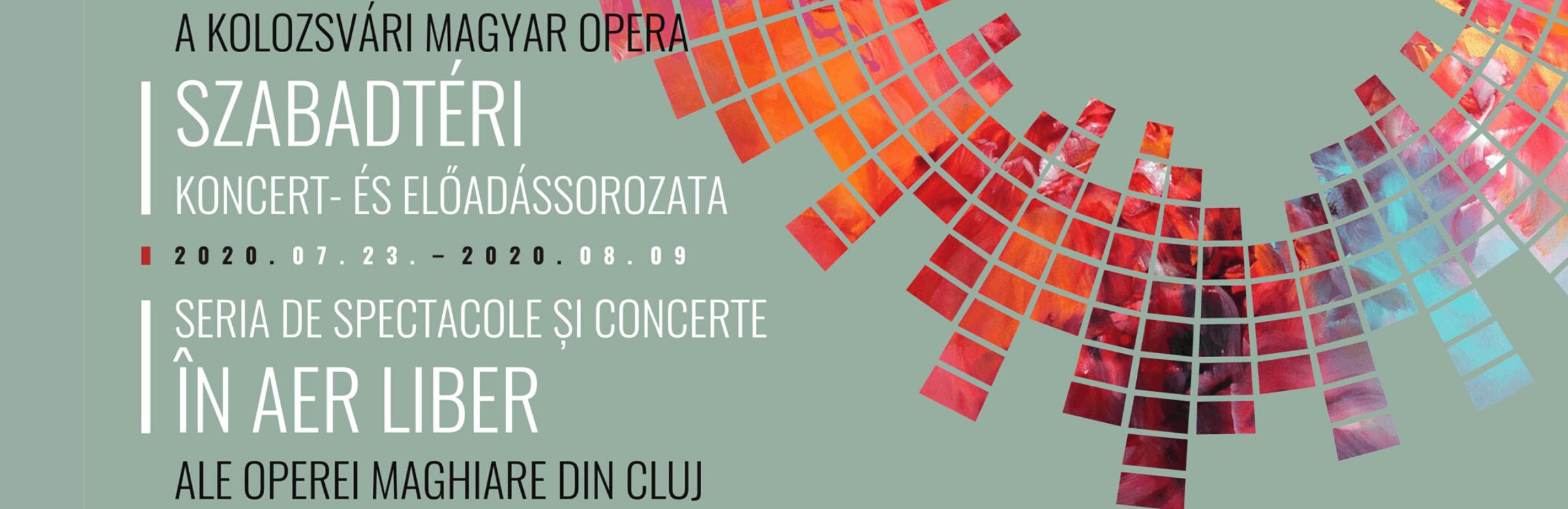 opera maghiara cluj in aer liber