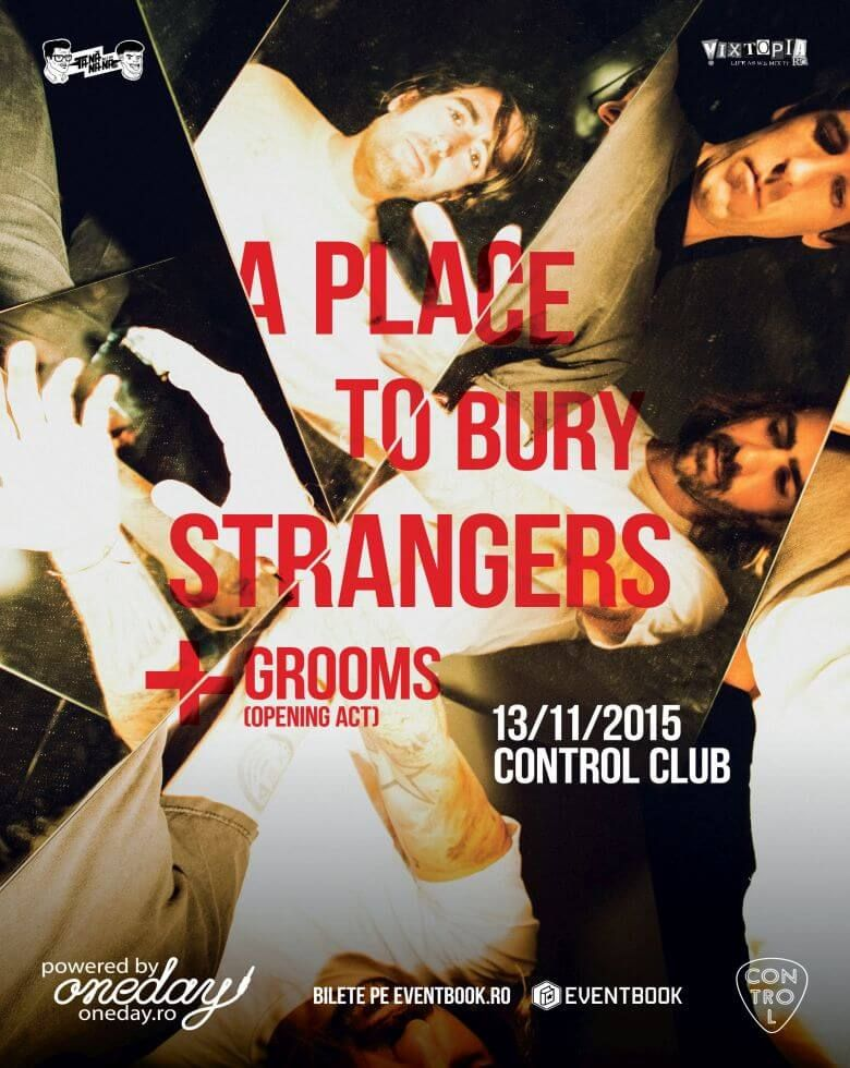 A Place To Bury Strangers. Opening Grooms Live