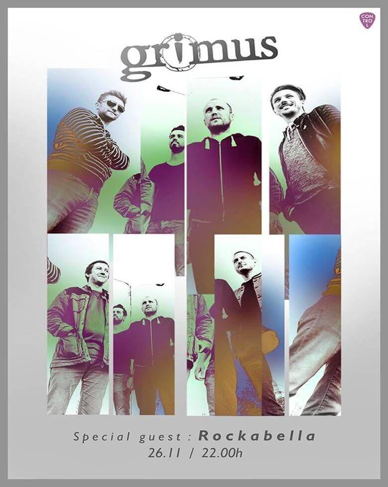 Concert Grimus Special guest: Rockabella