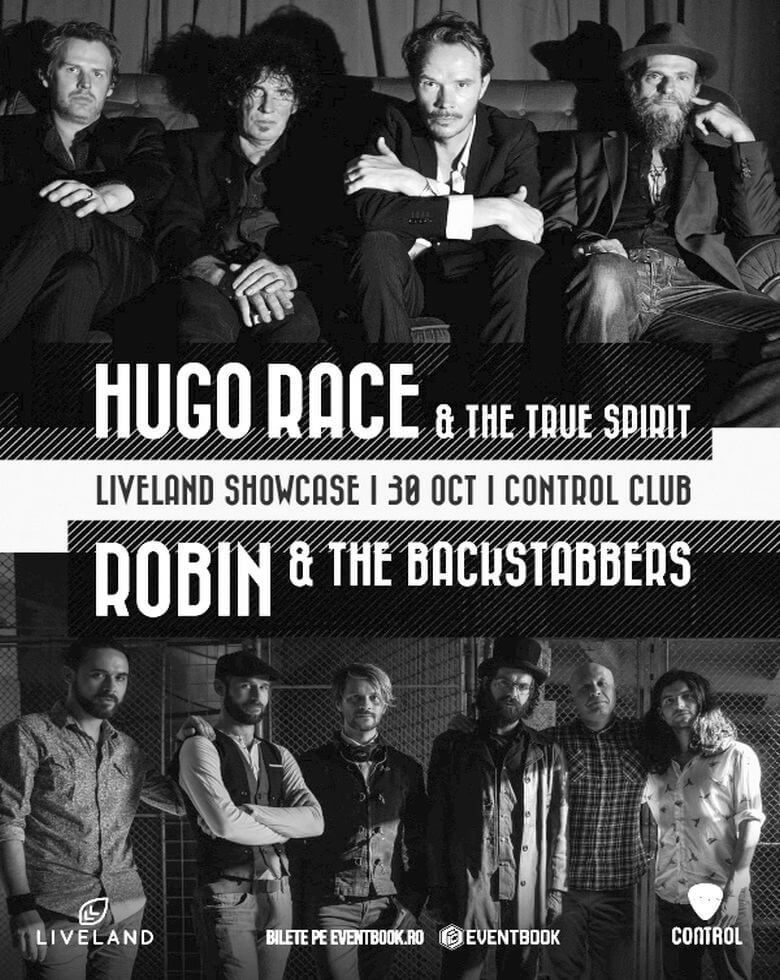 Hugo Race and The True Spirit | Robin and the Backstabbers Liveland Showcase