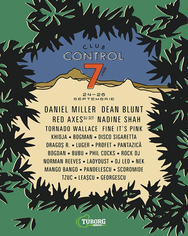 CONTROL 7 YRS - DEAN BLUNT / RED AXES KHIDJA / BOGMAN / PHIL COCKS + MORE
