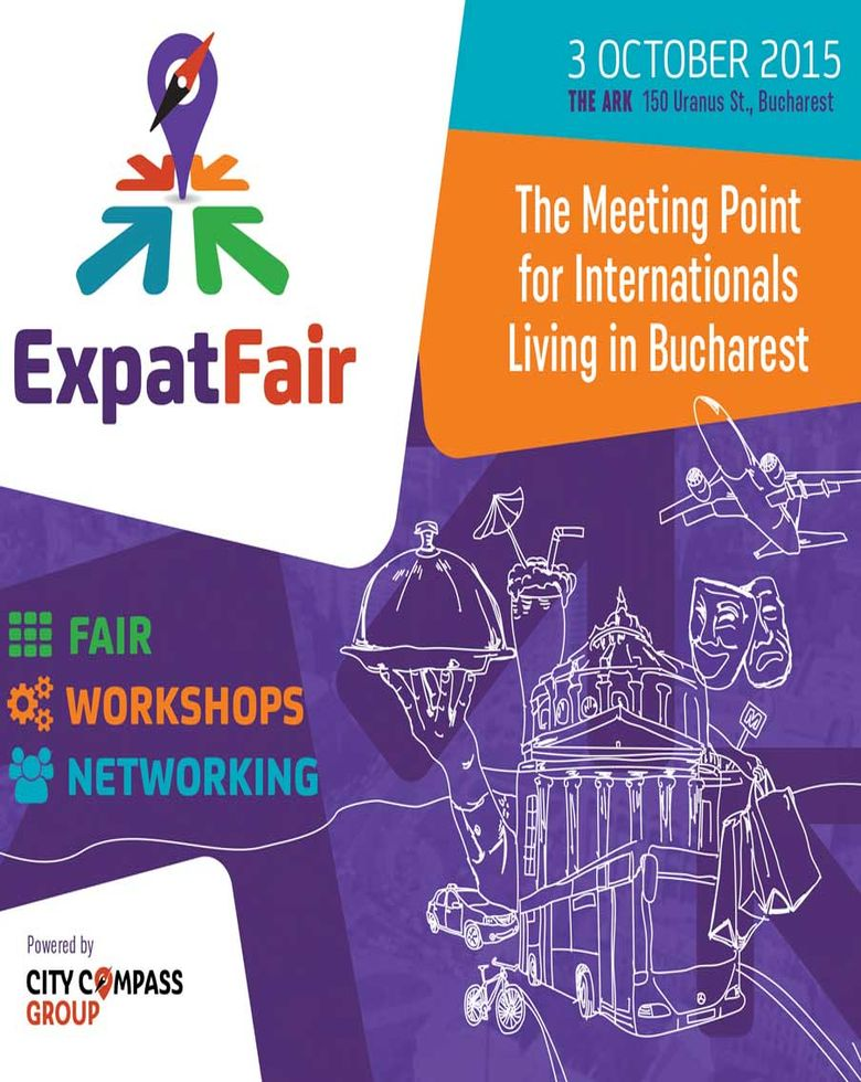 Expat Fair Bucharest, October 3 The youngest and most interactive expat event in town!