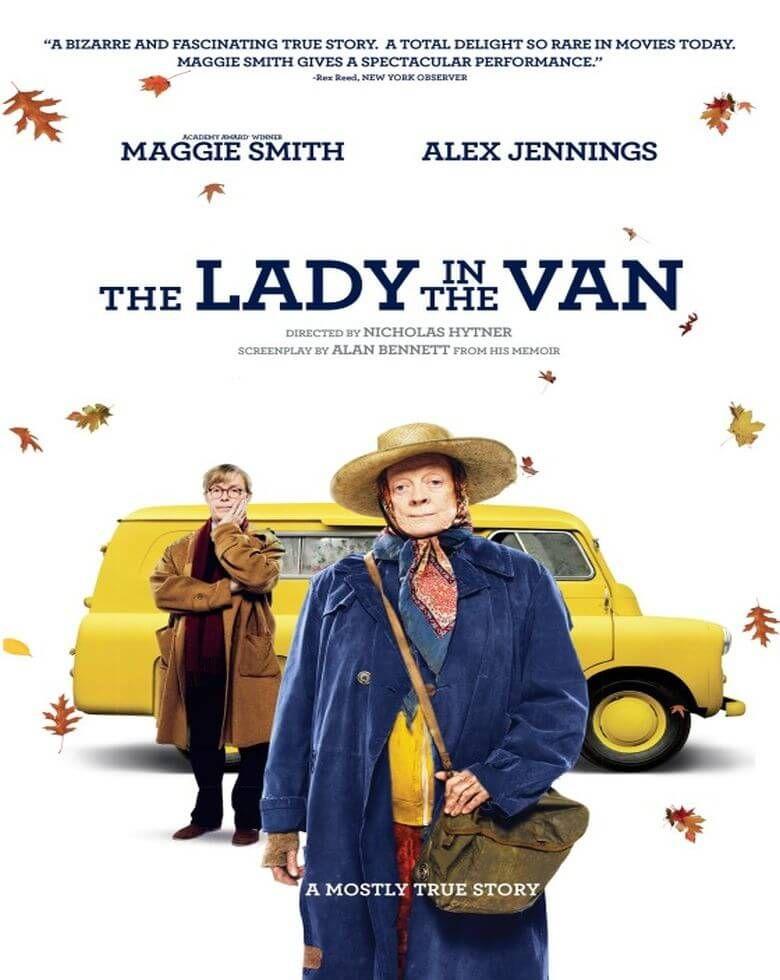 Lady in the Van (avanpremieră) Festivalul Internaţional de Psihanaliză şi Film, ediţia a IV-a