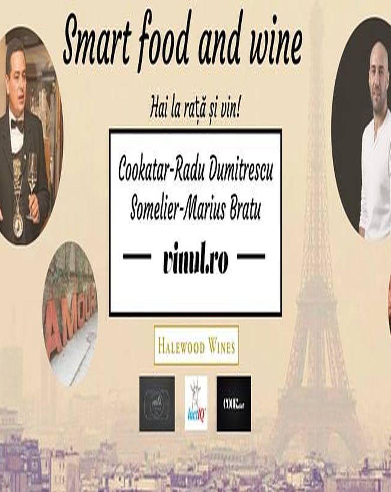 Smart Food and Wine Teoria și practica raței cu vinuri franțuzești
