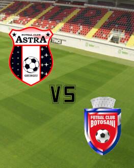 Astra Giurgiu - FC Botosani Etapa 26