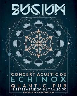 Bucium - Equinox Concert acustic cu proiecţii video