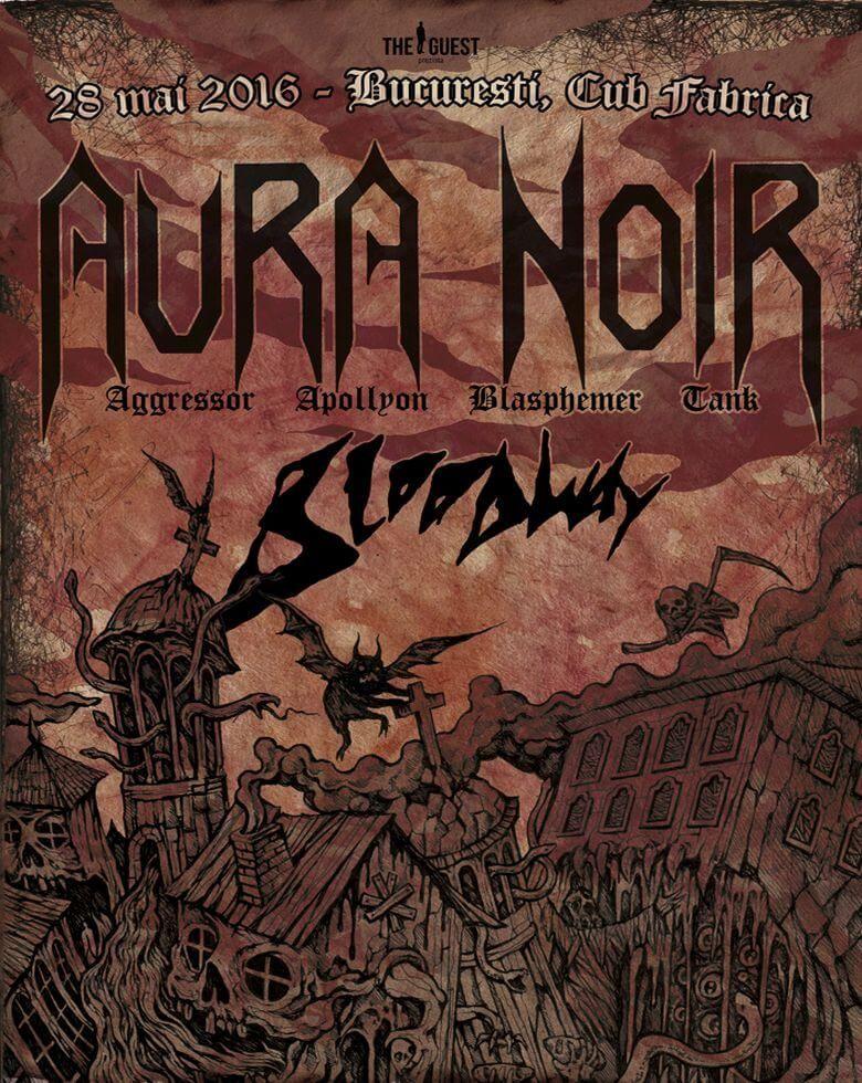 Aura Noir Guests: Bloodway