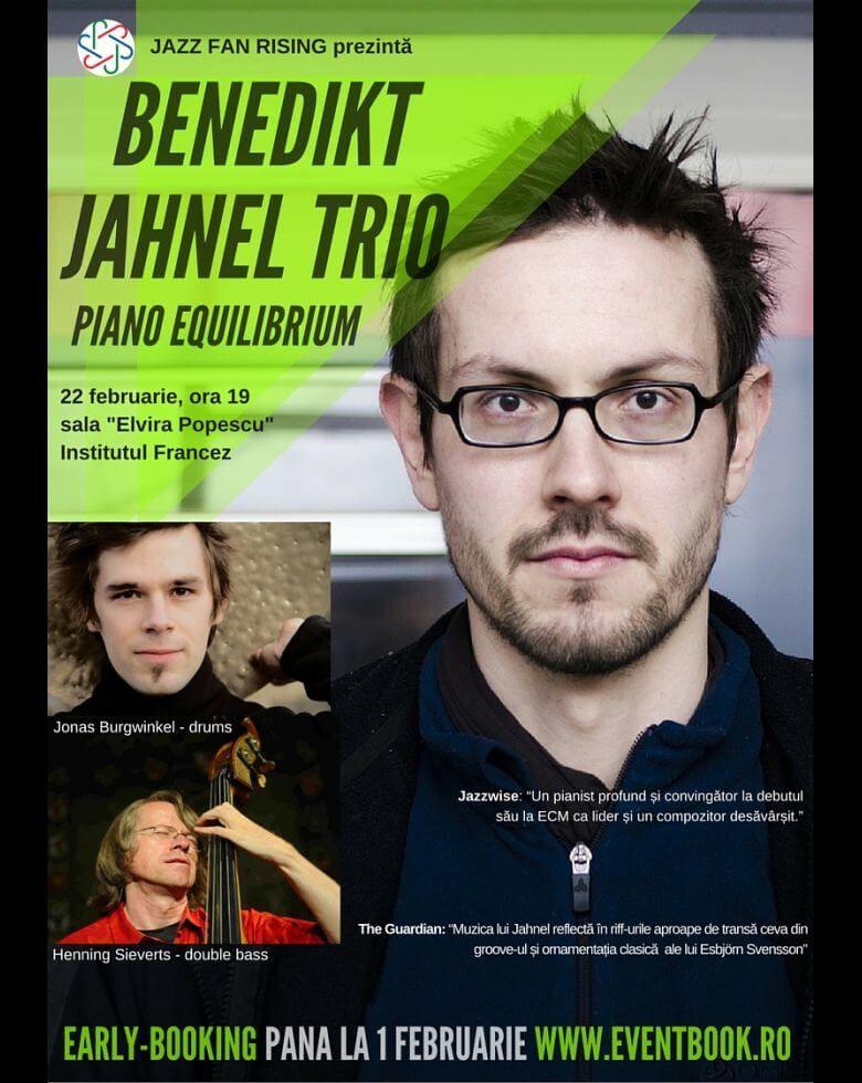 Benedikt Jahnel Trio în București Piano Equilibrium