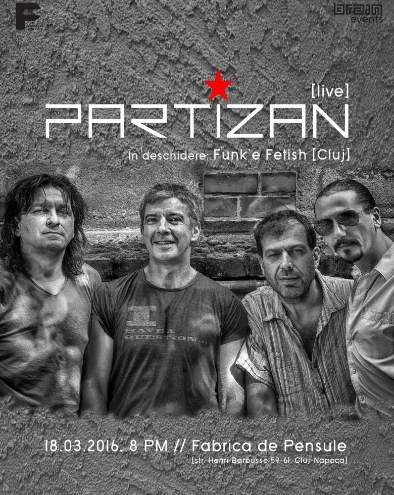 Partizan Guests: Funk'e Fetish