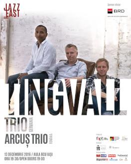 Tingvall Trio [Germania] & Arcuș Trio [România]  Concert Extraordinar de Jazz