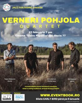 Verneri Pohjola 4tet la București Jazz Fan Rising | Jazz Nordic | premieră pentru România