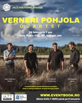 Verneri Pohjola 4tet la Cluj Jazz Fan Rising | Jazz Nordic | premieră pentru România