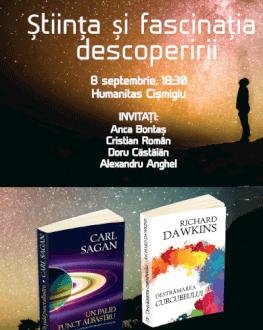 Știința și fascinația descoperirii Dublă lansare de carte
