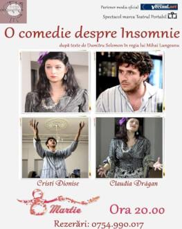 O comedie despre insomnie După texte de Dumitru Solomon