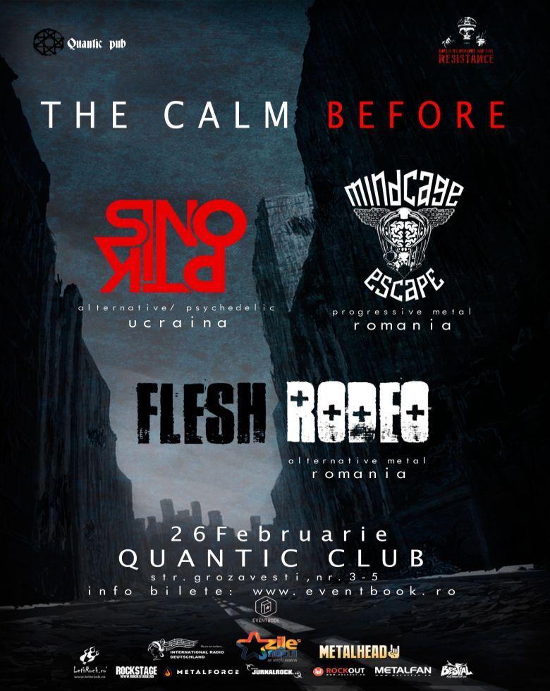 Underground Metal Resistance - The Calm Before SINOPTIK / FLESH RODEO / MINDCAGE ESCAPE