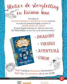 Atelier de Storytelling cu Liviana Tane Cum sa fii pirat