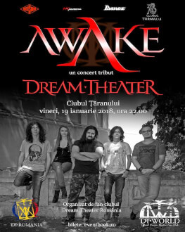 Awake Concert tribut Dream Theater