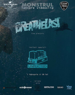 Breathelast - Monstrul (lansare video) Support by: Unflicted