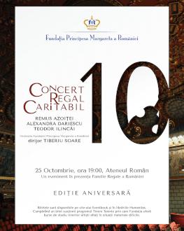 Concert Caritabil Regal Ediție Aniversară