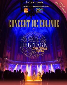 Concert de colinde susținut de formația Heritage
