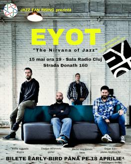 EYOT - the Nirvana of jazz Un concert Jazz Fan Rising