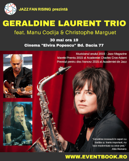 Géraldine Laurent Trio feat. Manu Codjia & Christophe Marguet Jazz Fan Rising | FRENCH TOUCH & DANCE | LOOKING FOR PARKER