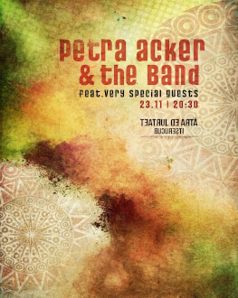 Petra Acker & The Band + very special guests Concert