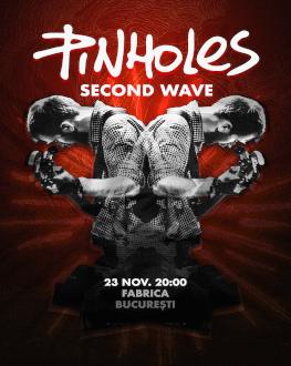 """Pinholes - Lansare single """"Liliac"""" Invitați: Second Wave"""