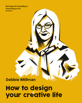 How to design your creative life O seară cu Debbie Millman