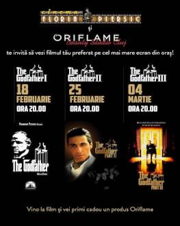 The Godfather I, II & III - abonament Asigură acces la proiecțiile din 18 februarie, 25 februarie și 4 martie