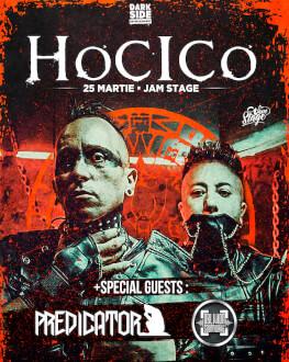 Hocico live at JamStage + Special Guests: Predicator Monk & Oblivion Soundwave