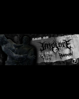 Implore / Ropeburn / Wrong Turn Concert