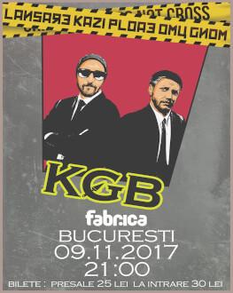 Lansare Kazi Ploae * Omu Gnom - KGB în București