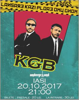 Lansare Kazi Ploae * Omu Gnom - KGB în Iași