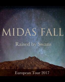 Midas Fall [uk], Black Water [ro] & Raised By Swans [ca] Concert