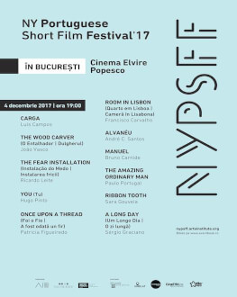 New York Portuguese Short Film Festival, ediția 2017, la București